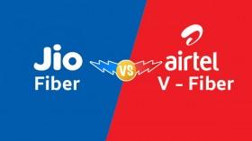Jio Fiber Rs. 699 Plan Vs Airtel V-Fiber Rs. 799 Plan: Data Benefits, Validity And More