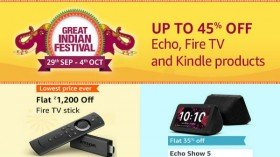 Amazon Great Indian Festival Sale 2019: Echo, Fire TV, Kindle Products Gets Massive Discounts