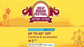 Cameras and Accessories Price: Discounts and Offers During Amazon Great Indian Festival Sale 2019