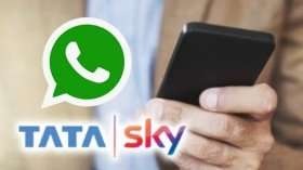 Tata Sky On WhatsApp: Check Balance, Add Packs And More