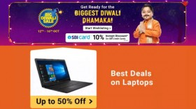 Flipkart Big Diwali Sale Offers: Bestselling Laptops Available At Up To 50% Off