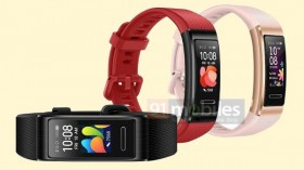 Huawei Band 4 Pro Renders Leaked; AMOLED Screen Expected