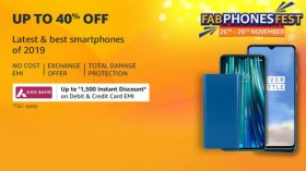 Amazon Fab Phones Fest (Nov 26 to 29): Offers On Mobiles And Accessories
