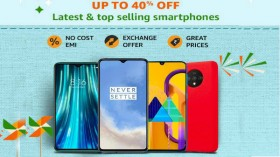 Amazon Great Indian Festival: Get Up To 40% Off On Popular Smartphones