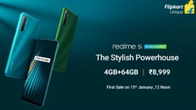 Realme 5i Vs Other 4GB RAM Smartphones To Buy Under Rs. 12,000