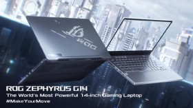 CES 2020: Asus Announces ROG Zephyrus G14 Gaming Laptop With AniMe Lid Display