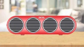 Detel Launches Amaze Wireless Bluetooth Speaker: Price And Specifications