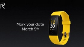 Realme To Launch Fitness Band On March 5 In India