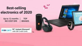 Avail Attractive Discounts On Electronic Gadgets On Amazon