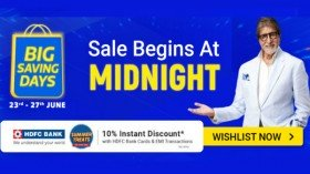 Flipkart Big Saving Days 2020: Offers On Mobiles, Laptops, Electronics, Home Essentials And More