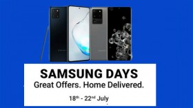 Flipakrt Samsung Days Offers: Last Day Discount And EMI Offers On Samsung Smartphones