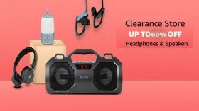 Amazon Clearance Sale 2020: Up to 60% Offer On Headphones, Speakers And More