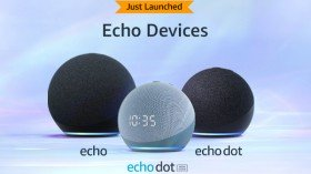 4th Gen Echo Dot, Echo Dot With Clock, And Echo Launched With Spherical Design