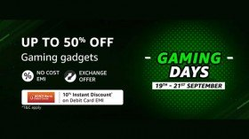 Amazon Gaming Days Sale: Up To 50% Discounts On Gaming Gadgets