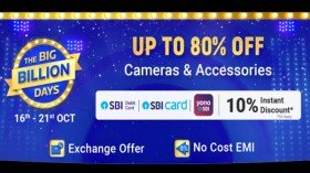 Flipkart Big Billion Days Sale 2020: Up To 80% Offers On Cameras And Accessories
