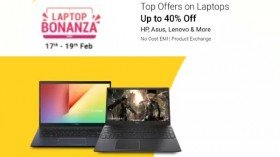 Flipkart Laptop Bonanza Offers 2021 Sale: Discount Offers On Dell, Asus, Acer And Apple Laptops