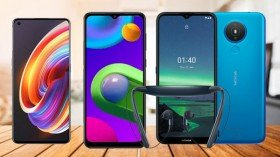 Week 6, 2021 Launch Roundup: Samsung Galaxy M12, OPPO A15s, Realme V11 5G, Realme X7 5G And More