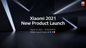 Xiaomi 2021 New Product Launch Event Set For March 29; Xiaomi Mi 11 Lineup Expected