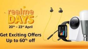 Amazon Realme Days: Discount Offers On Realme Accessories