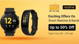 Flipkart Realme Days Sale: Offer On Realme Watch S, Realme Band, Realme Classic Watch, And More