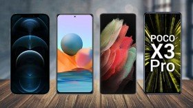 Last Week's Most Trending Smartphones: Poco X3 Pro, Redmi Note 10 Pro, Galaxy S21 Ultra, And More