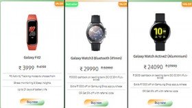 Samsung Independence Day Delights Sale: Best Discount Offers On Smart Watches