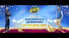 Flipkart Big Billion Days Sale Up To 80% Discount Offers On Electronics And Accessories