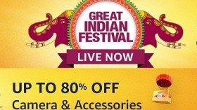 Amazon Great Indian Festival Sale: Up To 80% Off On Cameras