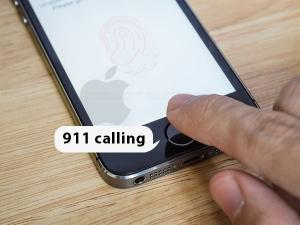 Apple patents secret 911 calling feature with fingerprint