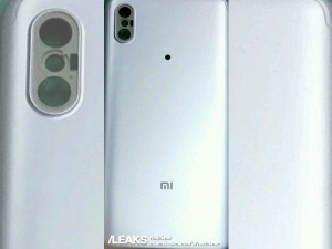 Xiaomi Mi 6X's alleged rear panel photo surfaces online