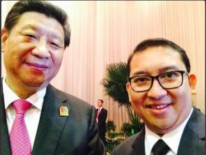 Chinese President Takes First selfie?