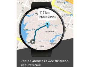 Android Wear Receives Support From Google Maps API