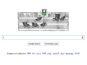 Google Doodle Intends To Honour First Traffic Signal