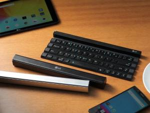 LG Rolly: The First Rollable Wireless Portable Keyboard