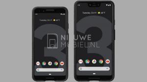 Google Pixel 3 and Pixel 3 XL press renders hit the web