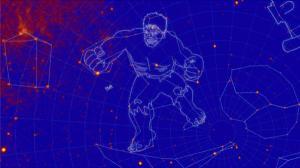 NASA tags new constellations as The Incredible Hulk and Godzilla