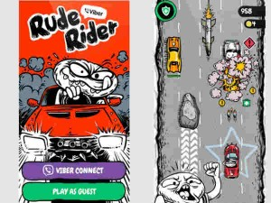 Viber Launches Rude Rider Racing Game