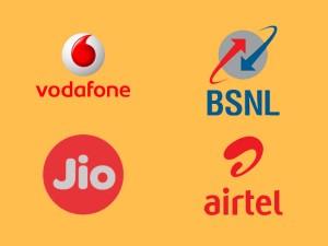 Reliance Jio Airtel Bsnl Vodafone 4g 3g Plans Voice Calls Free Tariff War Price