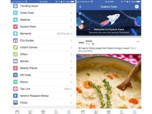 Facebook Explore Feed Feature Users Can Find New Content Android Ios Desktop