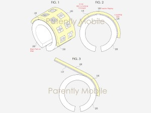 Samsung To Step Up The Wearable Game Acquires Patent A Flexible Smart Bracelet