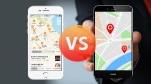 Apple Maps Vs Google Maps Features Compared