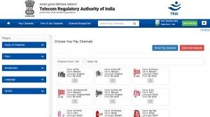 Trai Channel Selector App How To Calculate Dth Bill