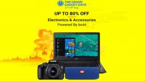 Flipkart Grand Gadget Days Offers On Laptops Smart Wearable Cameras And Much More