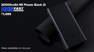 Xiaomi 20000mah Mi Power Bank 2i Launched Price Specs Features