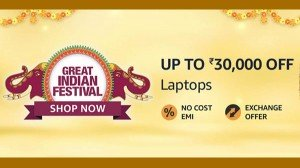 Amazon Great Indian Festival Sale Offers Special Discount Offers On Best Laptops