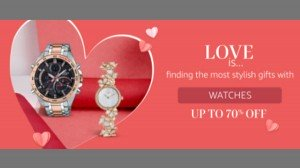 Amazon Sale Valentines Day Gift Discount Offers On Smart Watches And Smart Bands