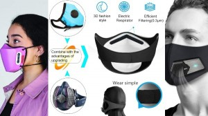 Covid 19 Double Safety Electric Mask List Of Rechargeable Electric Purifier Mask To Buy In India