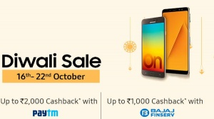 Diwali sale on Samsung smartphones: Get up to Rs. 2,000 discount and Rs. 1,000 cashback