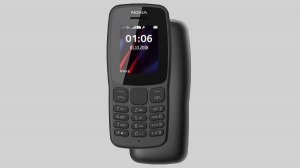 Nokia 106 (2018) feature phone announced for Rs. 1,700