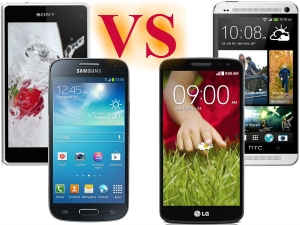 Galaxy S4 Mini Vs LG G2 Mini Vs HTC One Mini Vs Sony Xperia Z1 Compact
